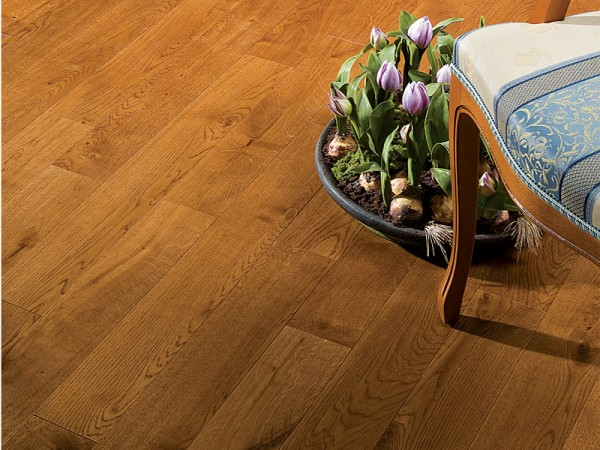 Массивная доска Coswick Кантри коллекция Дуб Орех 127 мм
