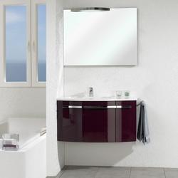 Pelipal Delta Комплект подвесной мебели 950 R правая Ежевично-глянцевый