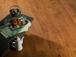 Массивная доска Coswick Брашированная коллекция Дуб Орех 127 мм