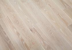 Массивная доска Magestik Floor Дуб Бавария брашированный 127 мм