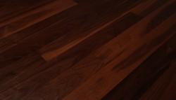Паркетная доска Parquet Prime Aмериканский Орех Натур двухполосная