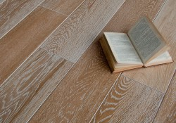 Массивная доска Magestik Floor Дуб Беленый брашированный 125 мм