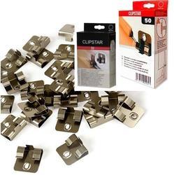 Клипсы для шпонированного плинтуса CLIPSTAR (50 штук/уп.)