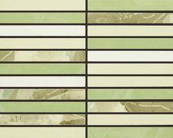 Mosaico Bellagio Verde 20Х25 глазурованный глянцевый