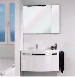 Pelipal Delta Комплект подвесной мебели 950 R правая белый высокоглянцевый