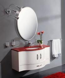 Серия Moderno ONDA 100(Столешница из искусственного мрамора Brillante Roso)