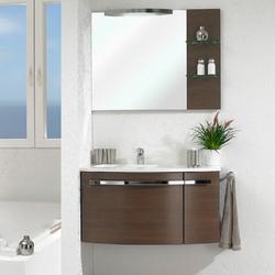 Pelipal Delta Комплект подвесной мебели 950 R правая шоколад