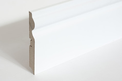Smartprofile 100A плинтус белый 100х16 мм