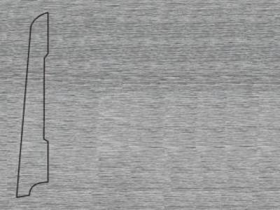 Алюминий San Marco 80х16х2500