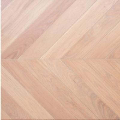 «Французская елка» Дуб натур 600/510*90*15 (Л/Пр) Супербелый масло