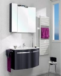 Pelipal Delta Комплект подвесной мебели 950 L левая черный матовый