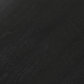 Паркетная доска Fine Art Floors Дуб Beluga Black браш лак