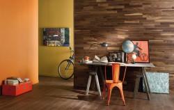 Стеновые панели Panaget Concept Bois Mural Американский орех двухполосный