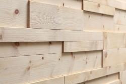 Деревянные 3D панели Mareiner Holz из Кедра Piz Palu