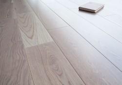 Массивная доска Magestik Floor Дуб Милк 125 мм