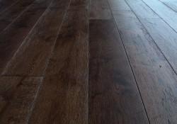 Массивная доска Magestik Floor Дуб Бренди брашированный 125 мм