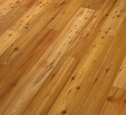 Паркетная доска Admonter Softwood Лиственница Выщелоченная Бэйсик брашированная под маслом
