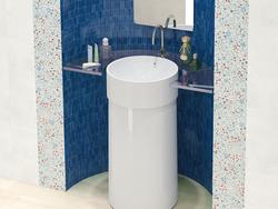 Mosaico Batic Seta 21.5Х21.5 глазурованный глянцевый