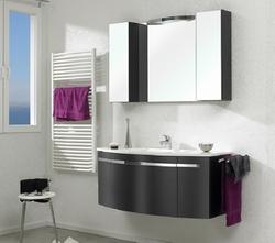 Pelipal Delta Комплект подвесной мебели 120 черный матовый